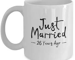 26th wedding anniversary 26th wedding gift etsy