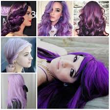 ravishing purple colors for 2017 haircuts try for