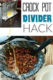 crock pot sales for black friday crockpot divider hack you u0027ll love this trick mylitter one