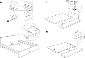 bedding download ikea malm bed frame king assembly instruction for