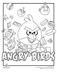 birds space coloring pages for kids printable