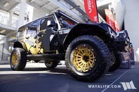 jeep jku side 2017 sema vision wheels black jeep jk wrangler unlimited