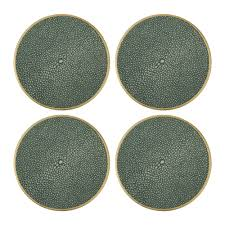Unique Coasters Buy Aerin Shagreen Coasters Set Of 4 Amara