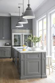 Kitchen Cabinets To Go Exceptional Apartment Kitchen Design Displaying Dark Grey Paint