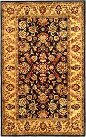 Black And Gold Rug Safavieh Golden Jaipur Gj250d Black And Gold Area Rug Free Shipping