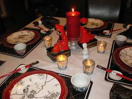 chinese new year home decorations dining room modern design christmas table setting ideas wonderful
