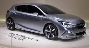 2016 subaru impreza hatchback silver moment of truth 2017 subaru impreza production vs concept