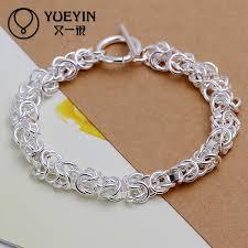 silver plated snake chain bracelet images Punk style snake chain silver plated bracelet for women men unisex jpg