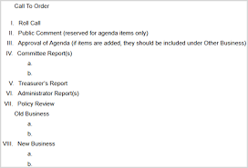 committee report template 15 best meeting agenda templates for word