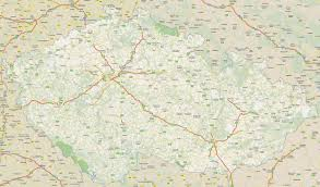 Map Of Czech Republic Footiemap Com Czech Republic 2010 2011 Map Of Top Tier Czech