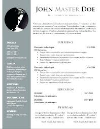 resume template word doc creative resume templates word skywaitress co