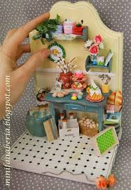 Dolls House Easter Decorations by 581 Best Room Boxes Images On Pinterest Dollhouse Miniatures