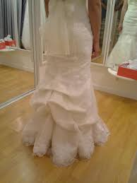wedding dress bustle dressigner custom dressmaking alterations of bridal dresses