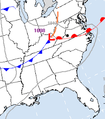 frontal boundary map perhaps some fairly widespread on thursday weather journal