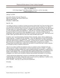 Resume Cover Letter Layout resume cover letter examples for teachers