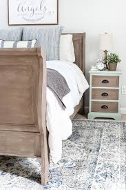 painted weathered wood bed makeover bless u0027er house