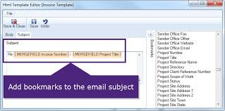 email template editor advanced