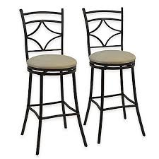 Bed Bath And Beyond Outdoor Furniture by Rahway Adjustable Bar Stools In Bronze Set Of 2 Bed Bath U0026 Beyond