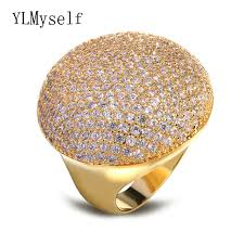 aliexpress buy new arrival white gold color aaa gorgeous jewelry rings top fashion large design