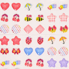 claires earrings kids april showers stick on earrings s