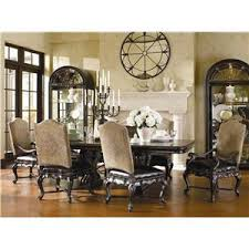 tuscan dining room tables thomasville the hills of tuscany 7 piece trestle dining table