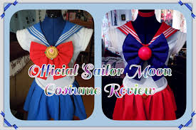 official sailor moon costume review セーラームーン youtube