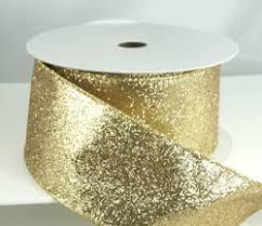 gold glitter ribbon premium ribbon