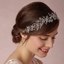 bridal headband aliexpress buy silver plated tiara luxury bridal headband