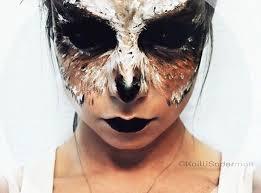 Raven Halloween Costume 25 Owl Makeup Ideas Fantasy Makeup