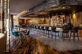 architectural interior design ideas for bar and restaurant with