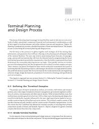 Airport Terminal Floor Plans by Chapter Ii Terminal Planning And Design Process Airport