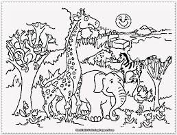 african animals coloring pages printable coloring page pedia