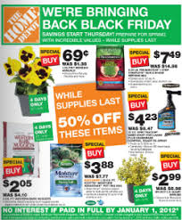 black friday no home depot ad annuals 69 each and bark for 2 05 a bag at home depot a