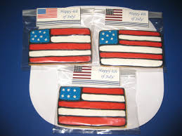 Flag Cookie Cutter Cristin U0027s Cookies Independence Day 4th Of July Cookies