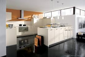 Orange And White Kitchen Ideas Pictures Of Kitchens Modern White Kitchen Cabinets Kitchen 17