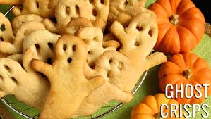 halloween ghost crisps recipe halloween recipes