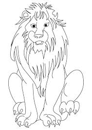 african lion coloring download free african lion coloring