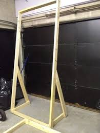 backdrop frame portable flats that we can store with fences up lighting
