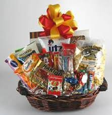 junk food basket food non chocolate version gift basket