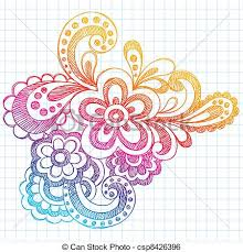 Flower Designs On Paper Different Designs To Draw On Paper Beauty Creative Design Doodle