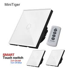 touch screen wall light switch wall switch touch switch 1 gang 2gang 3gang one way touch screen