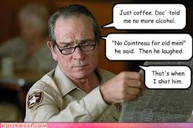 Tommy Lee Jones Meme - puns are murder worthy randomoverload