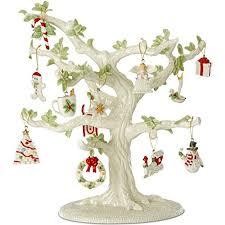 lenox miniature tree ornaments 13 sets garden bird