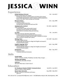 sample college resume high senior high student job