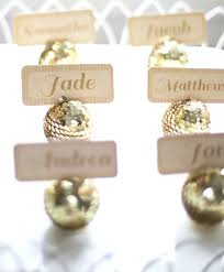 place card holders mini jeweled ornament place card