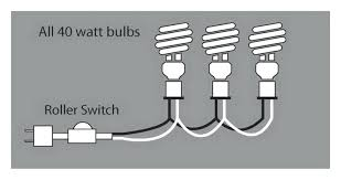 how to wire a l with multiple bulbs how to wire a l with multiple bulbs simple wiring diagram for