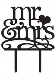 mr and mr cake topper cake toppers wedding gift card