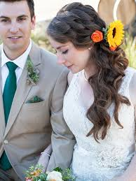 bridal hairstyle for marriage 17 wedding hairstyles for long hair with flowers