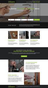 lexus locksmith toronto residential locksmith free quote responsive landing page design