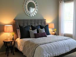 Guest Bed Small Space - enticing guest bedroom with grey tufted bedding sets part of